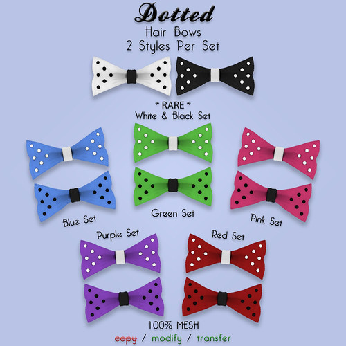 dotted bow prizes
