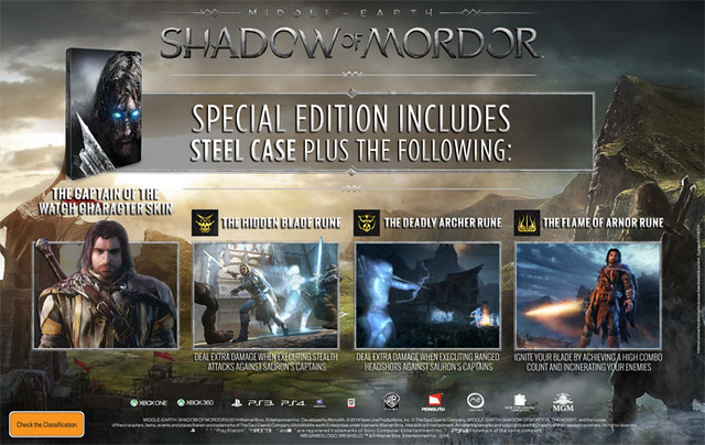 Middle-Earth: Shadow of Mordor Special Edition