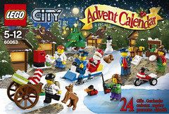 LEGO City 60063 - Advent Calendar 2014