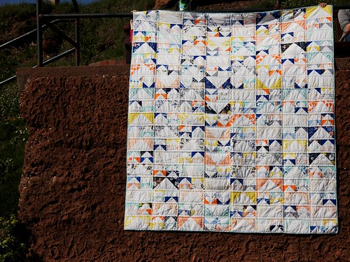 Tule Flying Geese Quilt