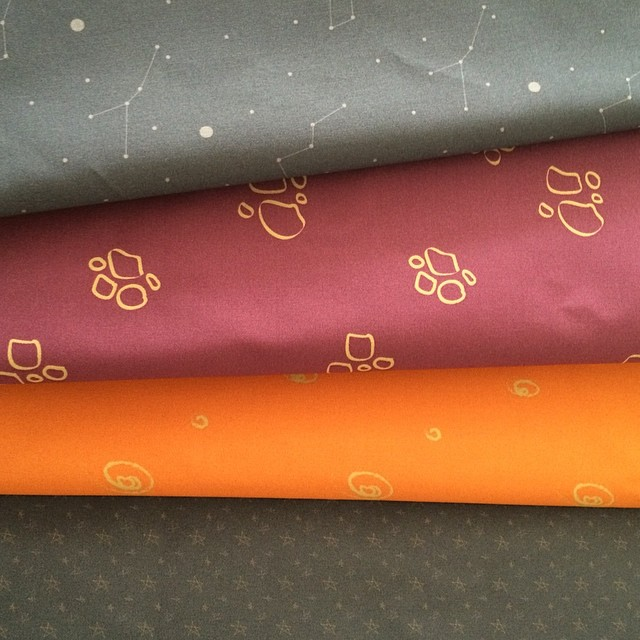New printed fabrics by Xianna