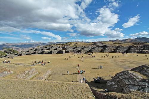 Saqsayhuamán e vista panorâmica de Cusco