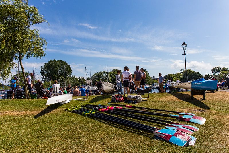 Entrants for the regatta
