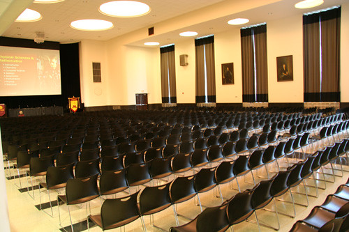 CMU Great Hall - Lecture