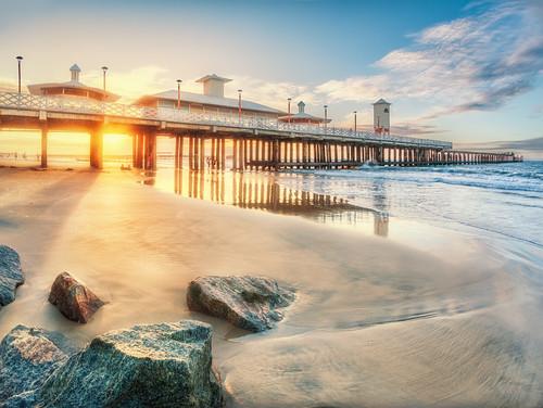 sunset pordosol sea brazil praia beach canon mar wideangle fortaleza ceara hdr 1022 mycity grandeangular canon1022 pontedosingleses 70d