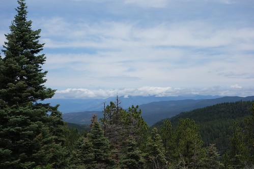 View on the high road to Taos