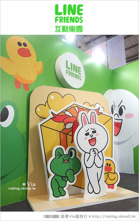 【台中line展2014】LINE台中展開幕囉!趕快來去LINE FRIENDS互動樂園玩耍去!(圖爆多)64