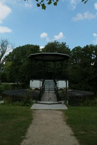 Vondelpark: torretta di controllo