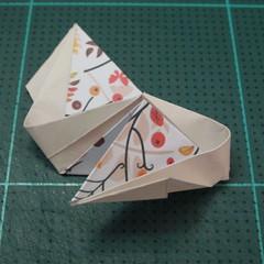 วิธีการพับลูกบอลกระดาษญี่ปุ่นแบบโคลเวอร์ (Clover Kusudama)010