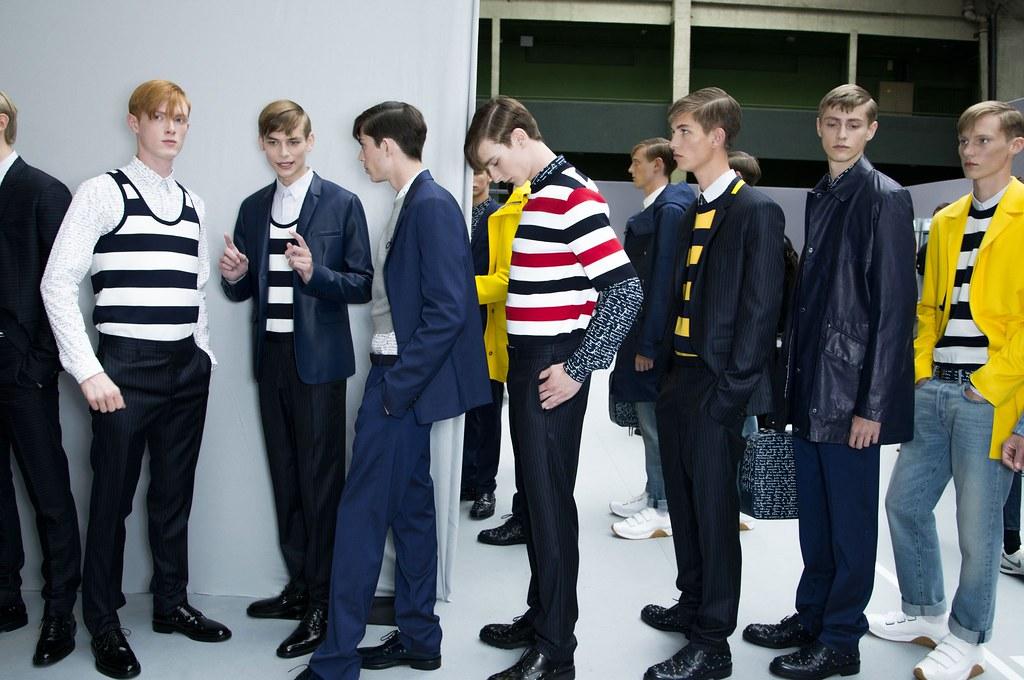 SS15 Paris Dior Homme260_Linus Wordemann, John Meadows,  Matthieu Gregoire, Dominik Hahn, Kevin Carlbom, Sam Rosewell, Carl Axelsson(fashionising.com)
