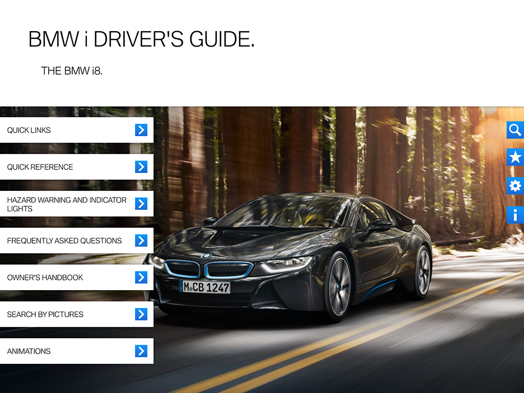 bmw i drivers guide app