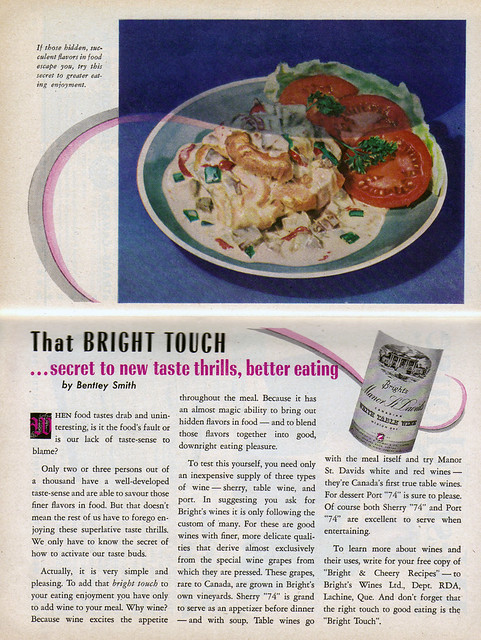 Vintage Ad #1,534: That Bright Touch
