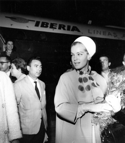 Romy Schneider by Iberia Airlines