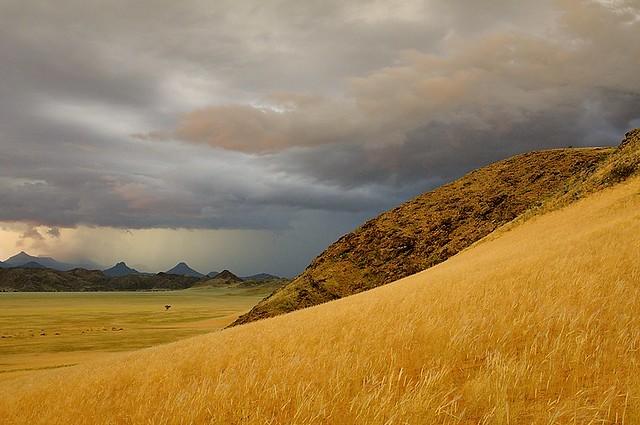 Namibia, threatening sky