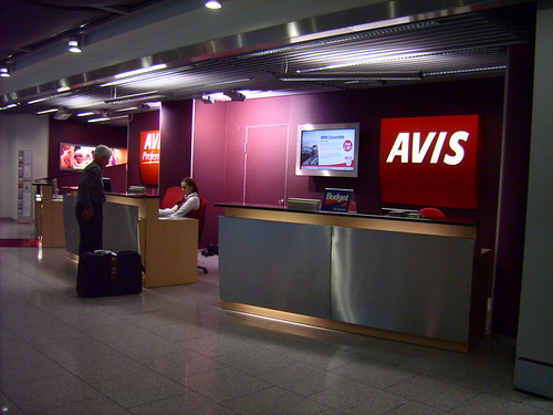 AVIS - CheckIn  (Airport Düsseldorf)