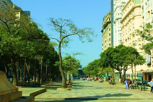 Calçadão da Avenida Rio Branco