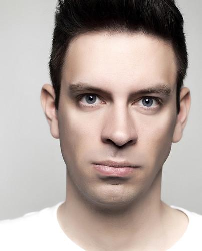 Male Model Face Portrait