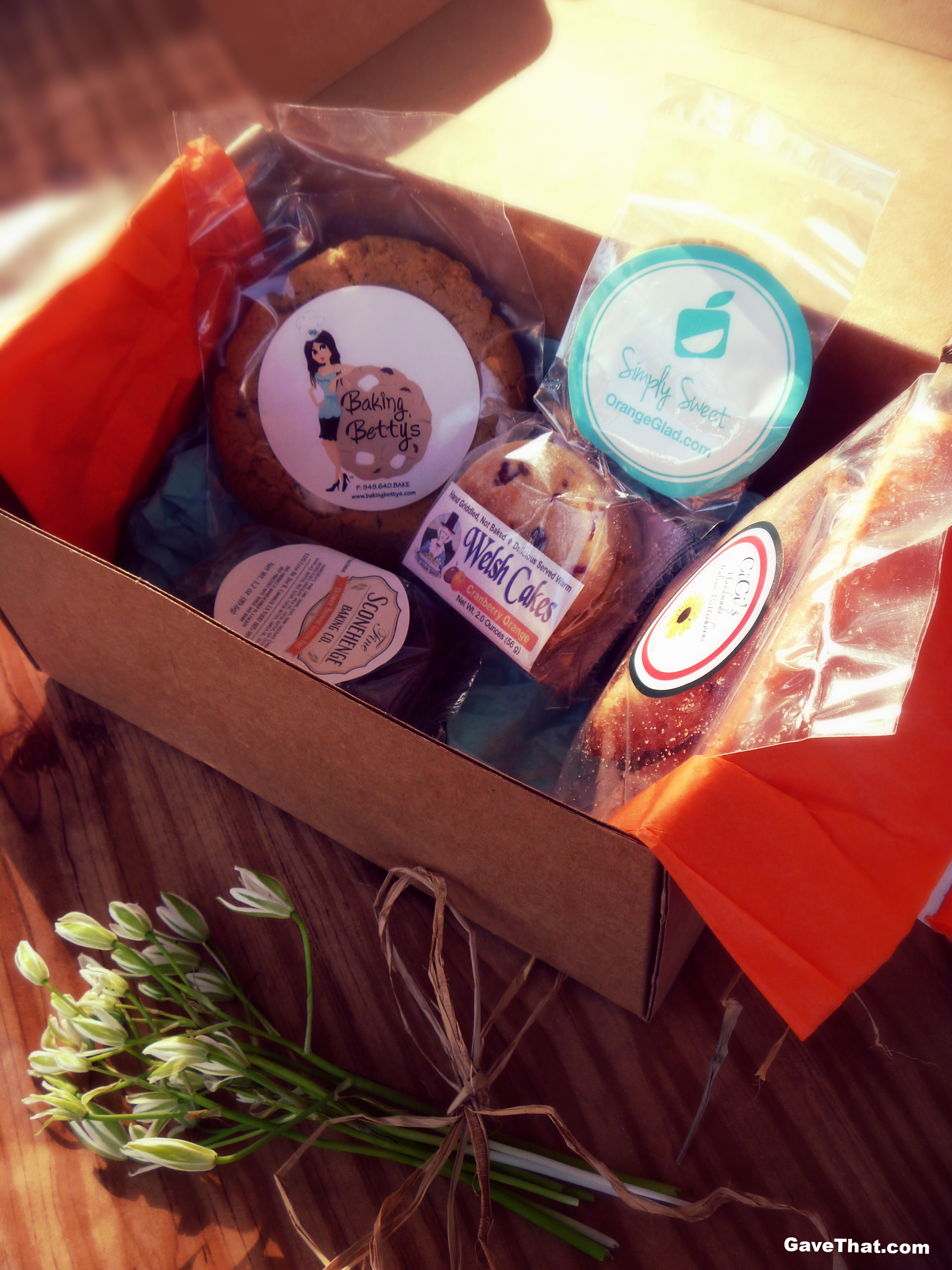 May Orange Glad Box