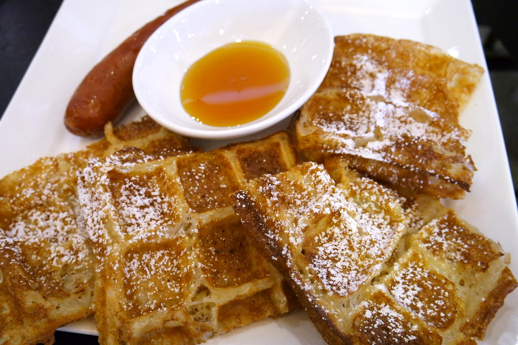 Nassim Hill Bakery Bistro Bar: Wholemeal Belgian Waffle
