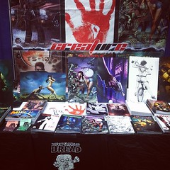 NOW we're ready for #xcon ! #bigbanner #comics #cons  #compensating