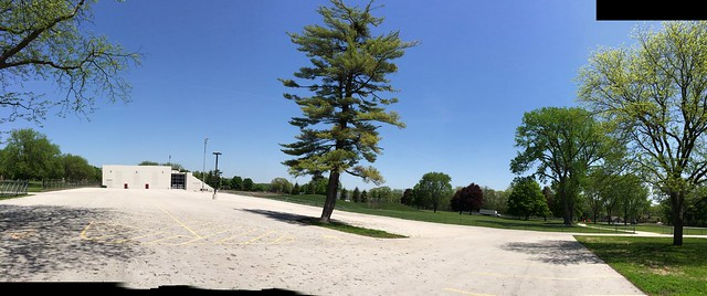 Eagle Nest and Parking Lot pano 120140521