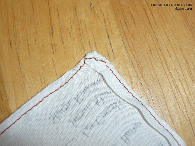 Wedding Handkerchief - Embroidery (12)