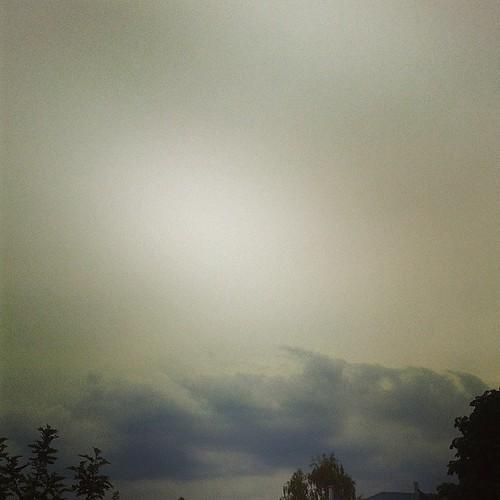 Da braut sich seit Stunden was zusammen, was dann doch wieder kein Gewitter wird. >:-( #12v12
