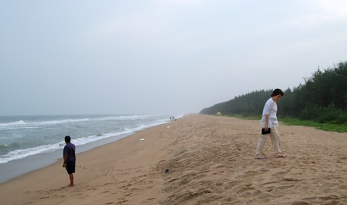 Der Strand von Dune ist abgelegen von allem und im Sommer bestimmt toll.