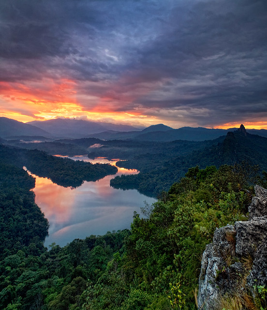 Sunrise up the Betty (June) by ishafizan, on Flickr