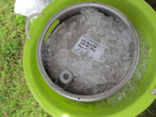 Iced cask