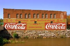 Coca-Cola Mural - Pulaski, VA