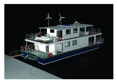 Home Ideas Small Houseboat Plans