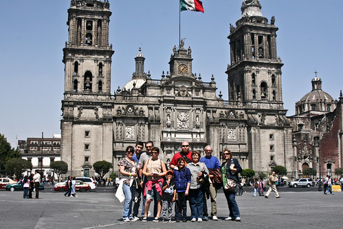 My Family At The Zocalo - Feb 2011