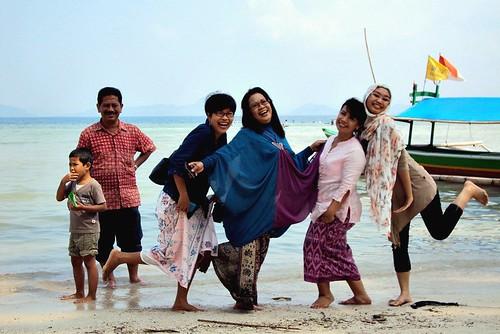 sumatra indonesia laut beah lampung