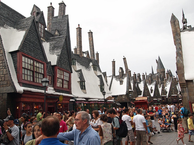 Hogsmeade village. Universal Studios Island of Adventure ...