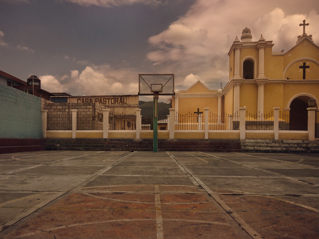 BasketBall Structure, belize and guatemala