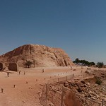 Abu-Simbel temple by lake Nasr