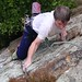 Small photo of Graham on Ardua, Agden Rocher