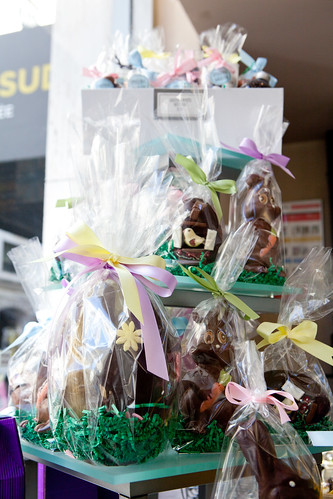 Bounty of Easter chocolate figures