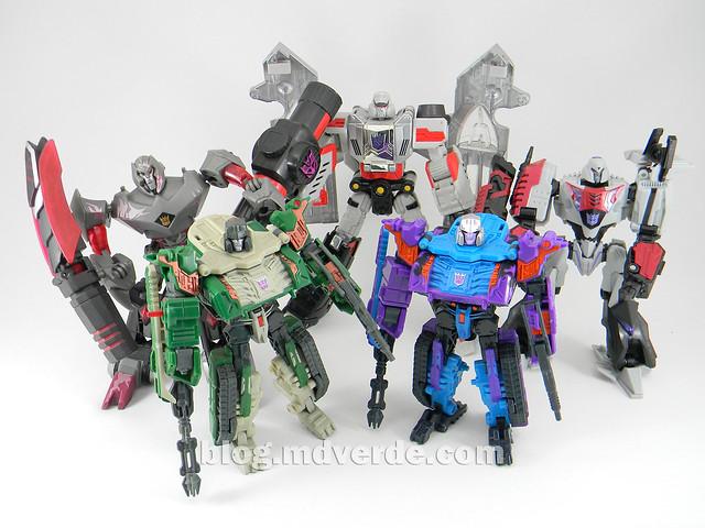 Transformers Tank Megatron Deluxe - United - modo robot vs otros Megatron