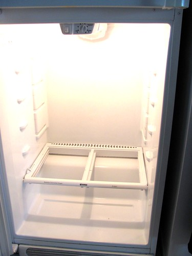 Clean the fridge, clean the slate