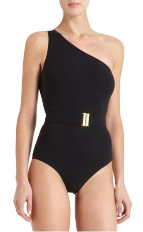 Lanvin belted swimsuit