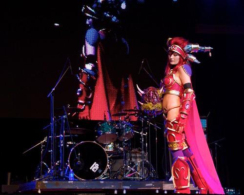Alexstrasza @ Cosplay Contest - Anime Matsuri 2012
