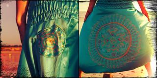 Sarouel Indian blue