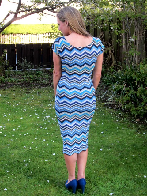 missoni dress back