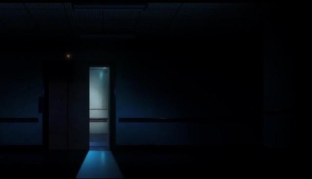 A terrifying empty elevator