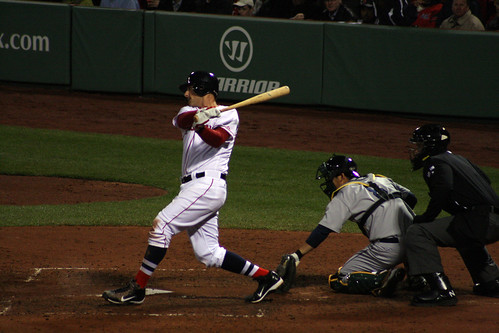 Will Middlebrooks' first major league hit