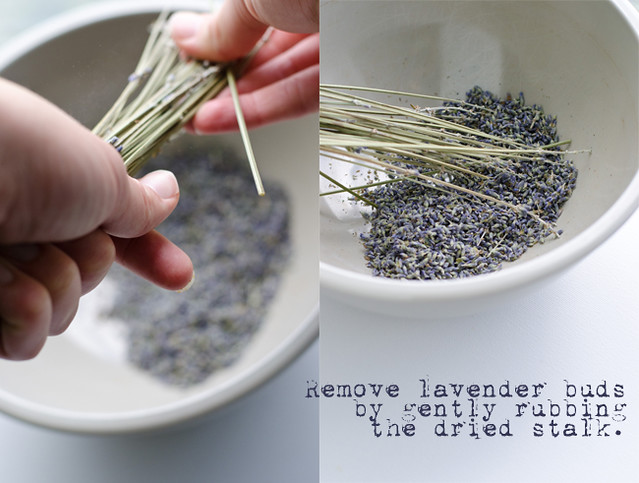 Fig and LAvender Muesli REmoving Lavender by Mary Banducci