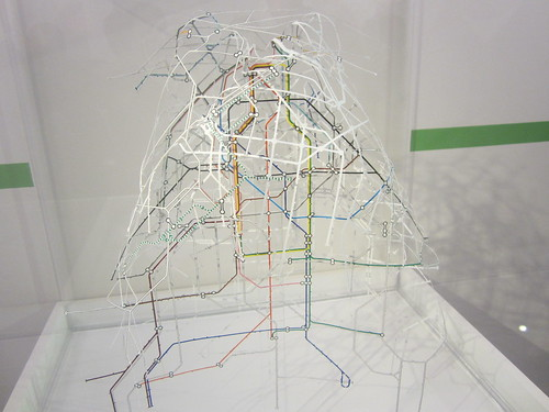Tube Map Artwork - Mind the Map