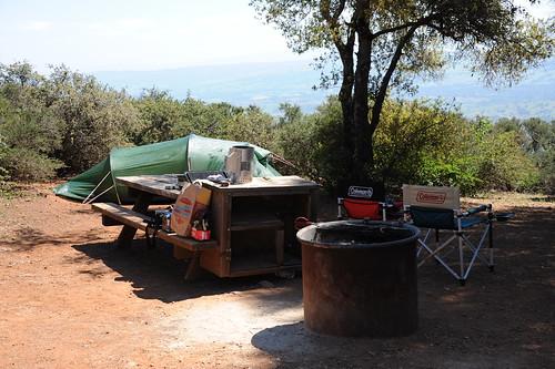 キャンプ準備